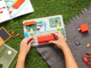 Child building Kano Computer Kit