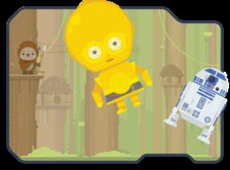 Force push droids