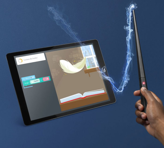 Play with the Harry Potter Kano coding wand