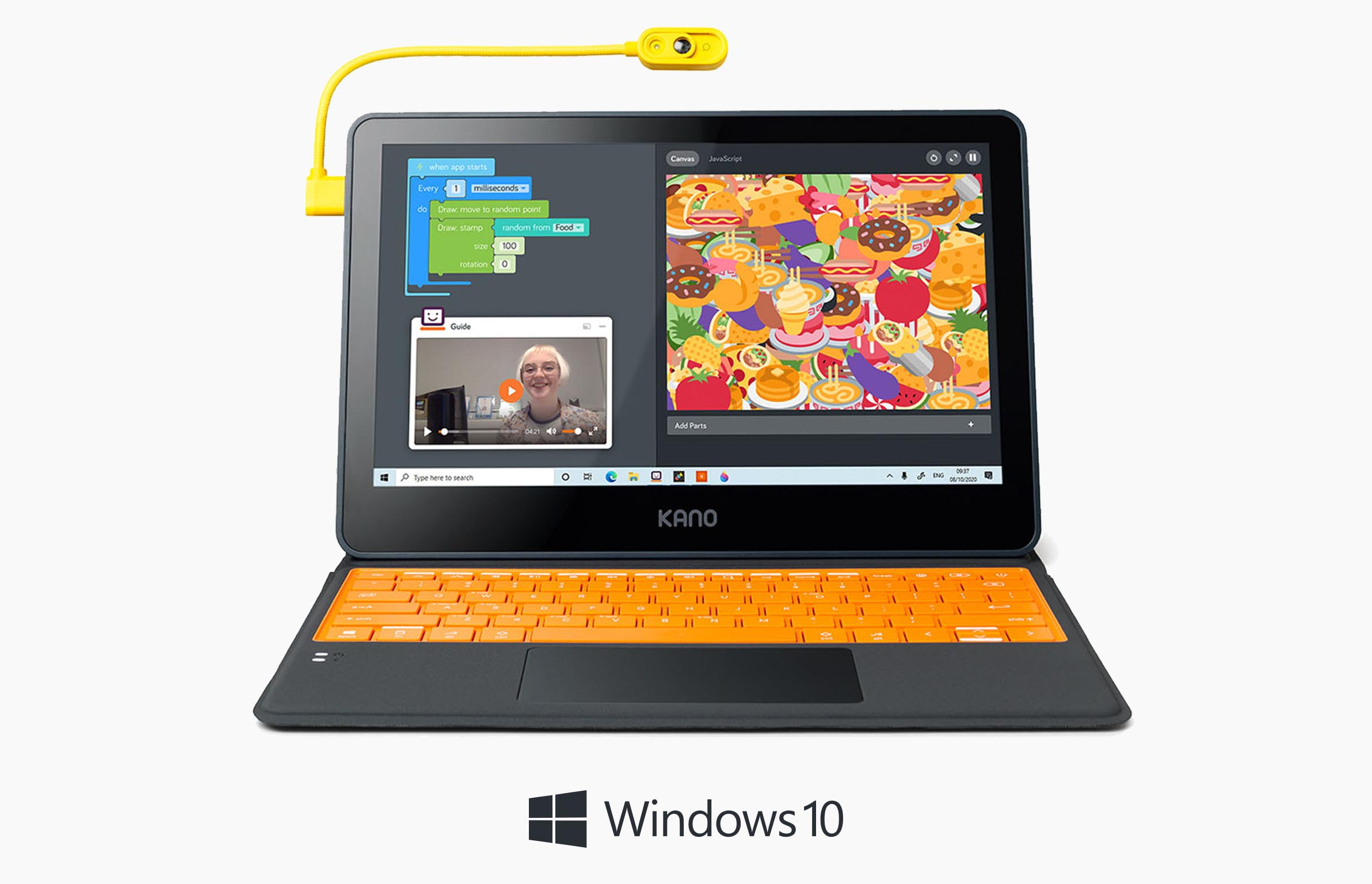Kano PC + Free Webcam